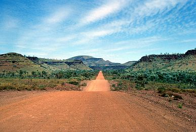 Rio Tinto Gorge, Tom Price-Wittenoom Road